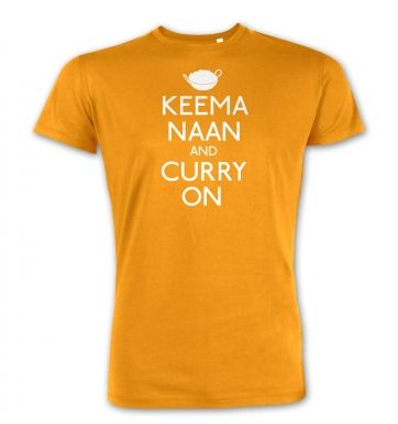 Keema Naan And Curry On  premium t-shirt