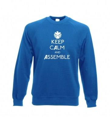 Keep Calm and Assemble sweatshirt