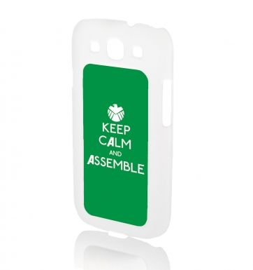 Keep Calm and Assemble BRUCE - Galaxy SIII Phone case