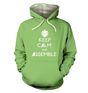 Keep Calm And Assemble hoodie (premium)