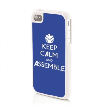 Keep Calm and Assemble THE CAPTAIN - iPhone 4/4s Phone case