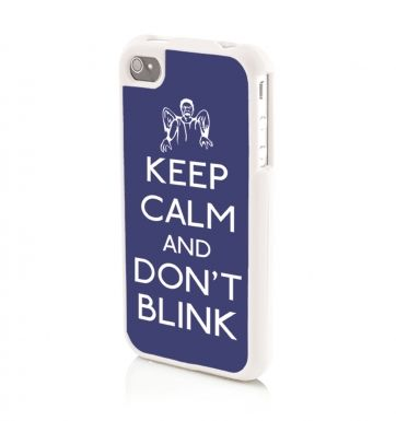 Keep Calm and Don't Blink - iPhone 4/4s Phone case