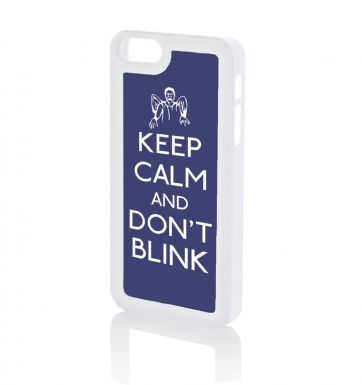 Keep Calm and Don't Blink - iPhone 5 & iPhone 5s case