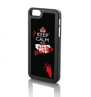 Keep calm and Kill Zombies - iPhone 5 & iPhone 5s case