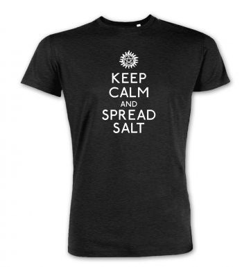 Keep Calm And Spread Salt  premium t-shirt