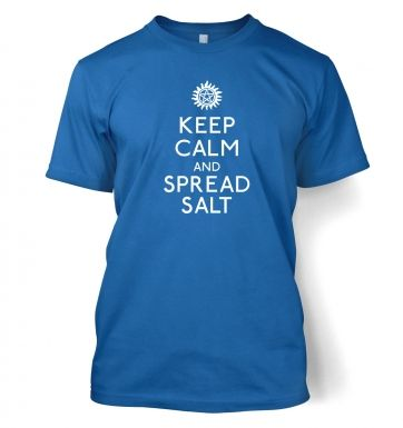 Keep Calm And Spread Salt  t-shirt