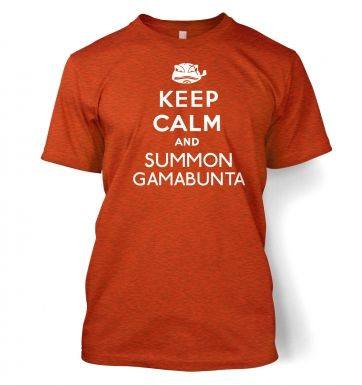 Keep Calm and Summon Gamabunta t-shirt