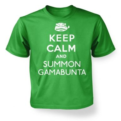 Keep Calm and Summon Gamabunta  kids t-shirt