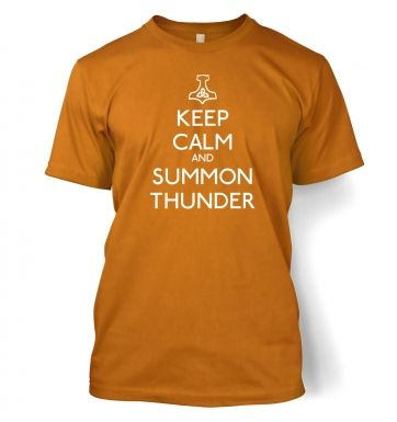 Keep Calm and Summon Thunder  t-shirt
