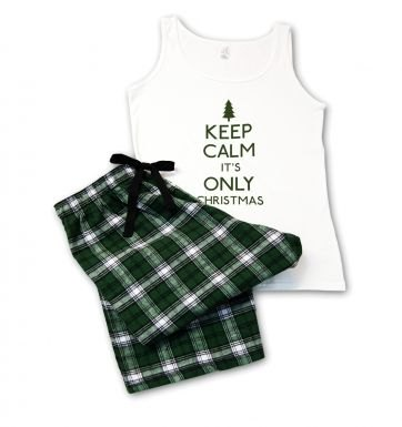 Keep Calm It's Only Christmas Pyjamas