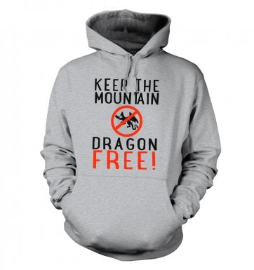 Keep The Mountain Dragon Free hoodie