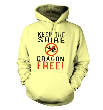 Keep The Shire Dragon Free hoodie