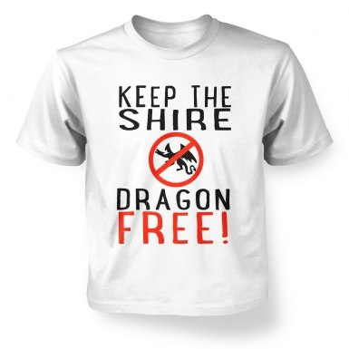 Keep The Shire Dragon Free kids' t-shirt
