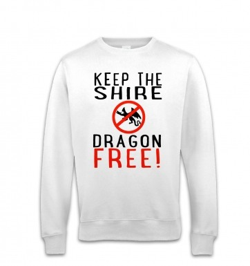 Keep The Shire Dragon Free sweatshirt