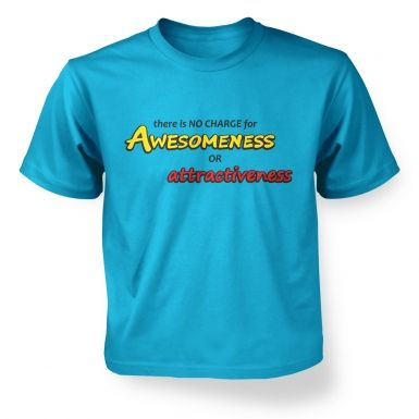 Awesomeness kids' t-shirt