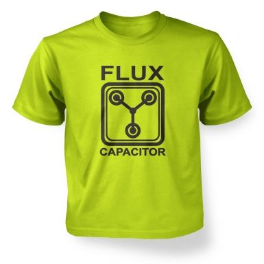 Flux Capacitor kids' t-shirt