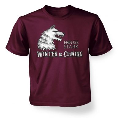 Kids House Stark t-shirt - Inspired by Game of Thrones