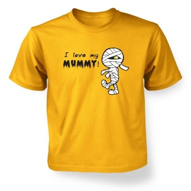 Kid's I Love My Mummy T-Shirt 