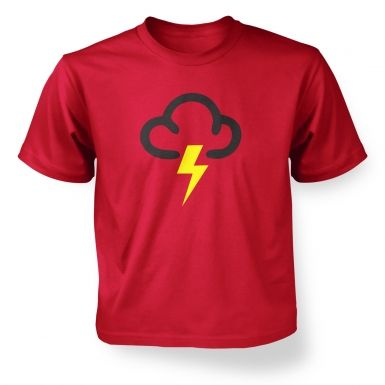 ' Weather Symbol Thunderstorms kids' t-shirt