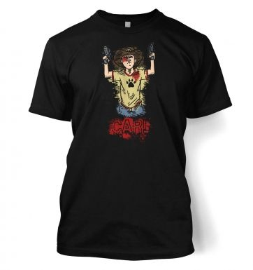 Kid with guns  t-shirt
