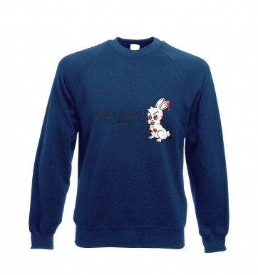 Killer Rabbit of Caerbannog sweatshirt