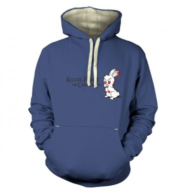 Killer Rabbit of Caerbannog premium hoodie
