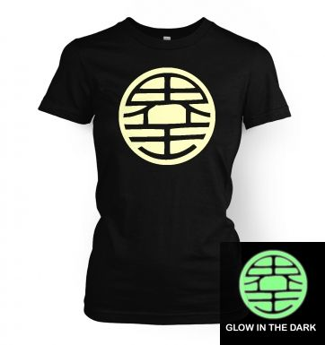 King Kai (glow in the dark) women's t-shirt