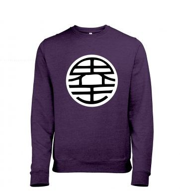 King Kai Adult Mens Heather Sweatshirt