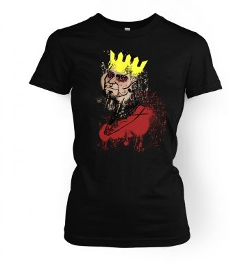 King of the Island  womens t-shirt