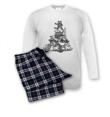 Kittynacci Pyramid pyjamas (men's)