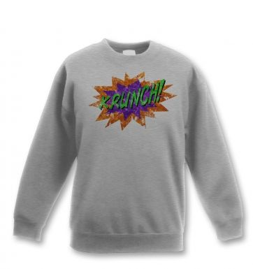 Krunch kids' sweashirt