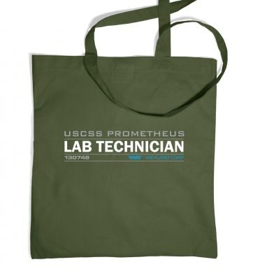 Lab Technician USCSS Prometheus Tote Bag Inspired by Prometheus