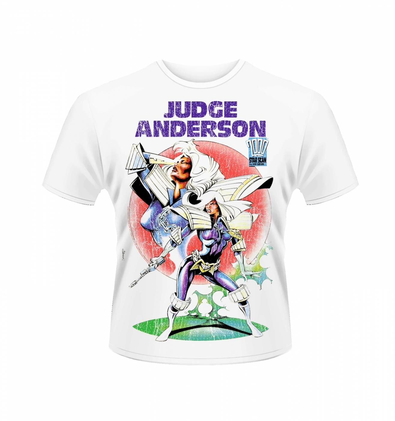 OFFICIAL 2000AD Judge Anderson 2 t-shirt