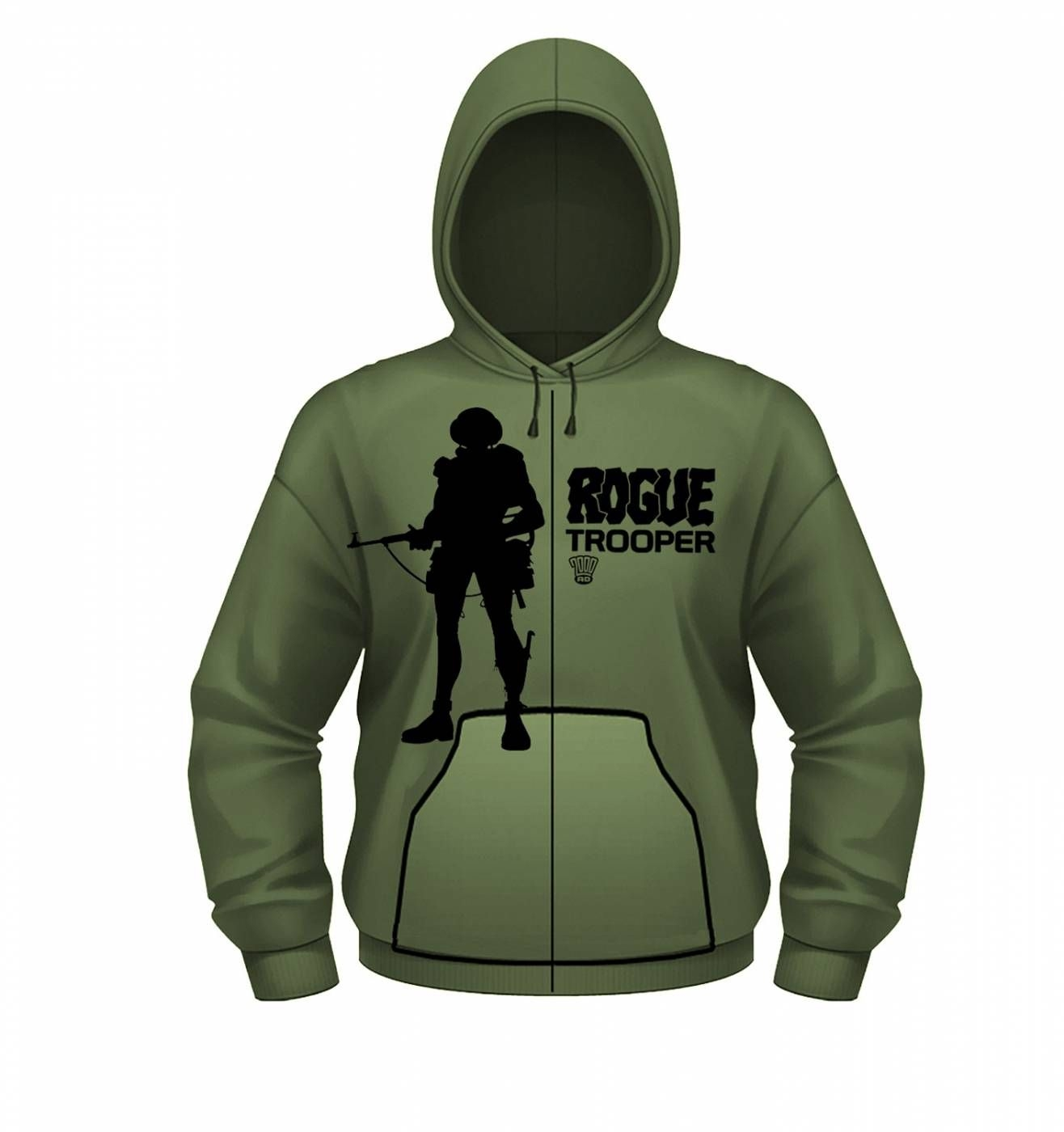 OFFICIAL 2000AD Rogue Trooper zoodie