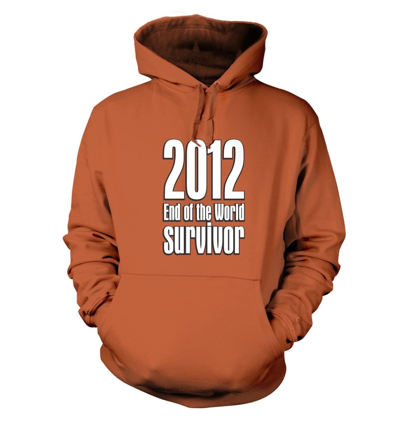 2012 End Of The World Survivor  hoodie