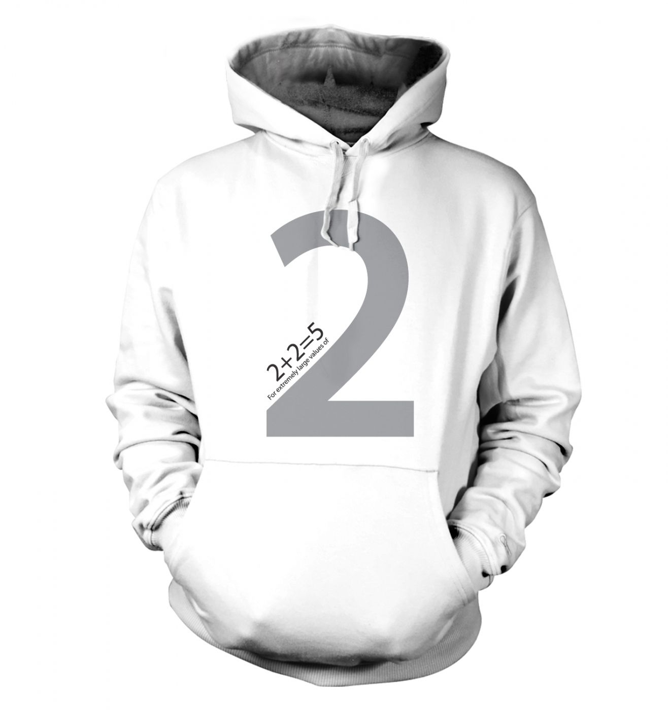 2 + 2 = 5 For Extremely Large Values Of Two Hoodie