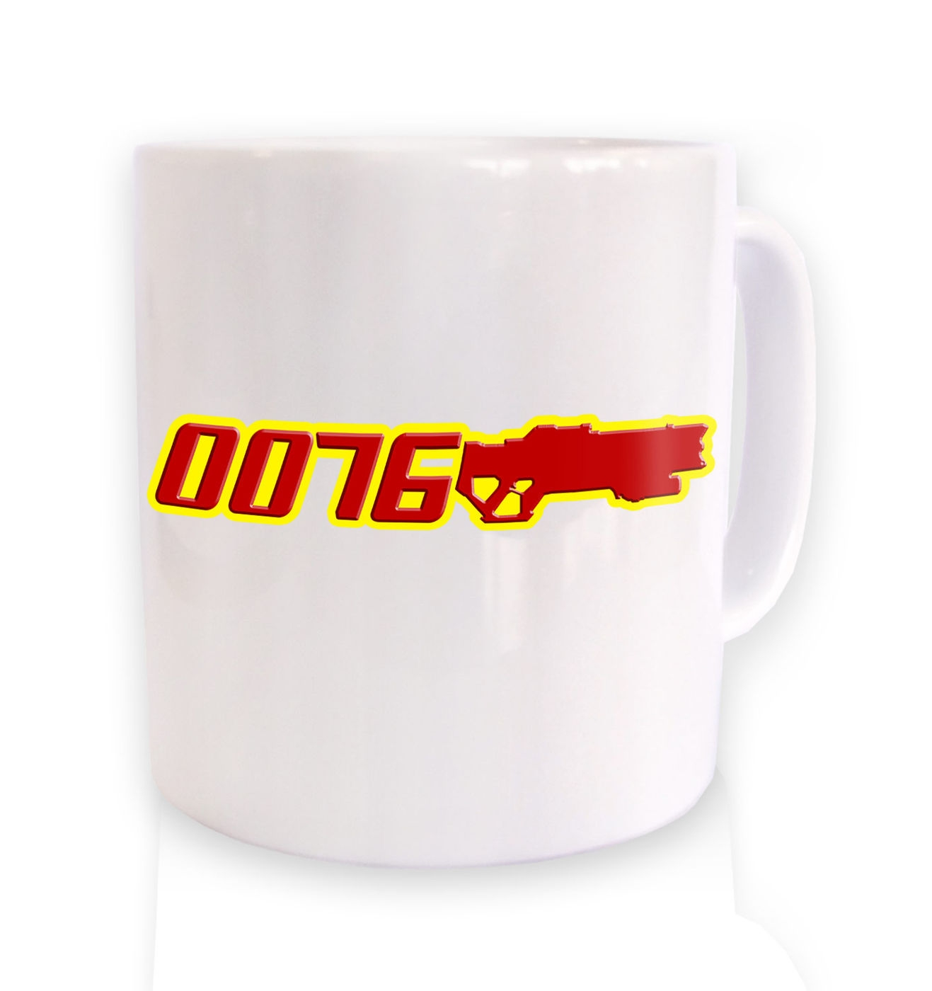 Agent 0076 mug by Something Geeky