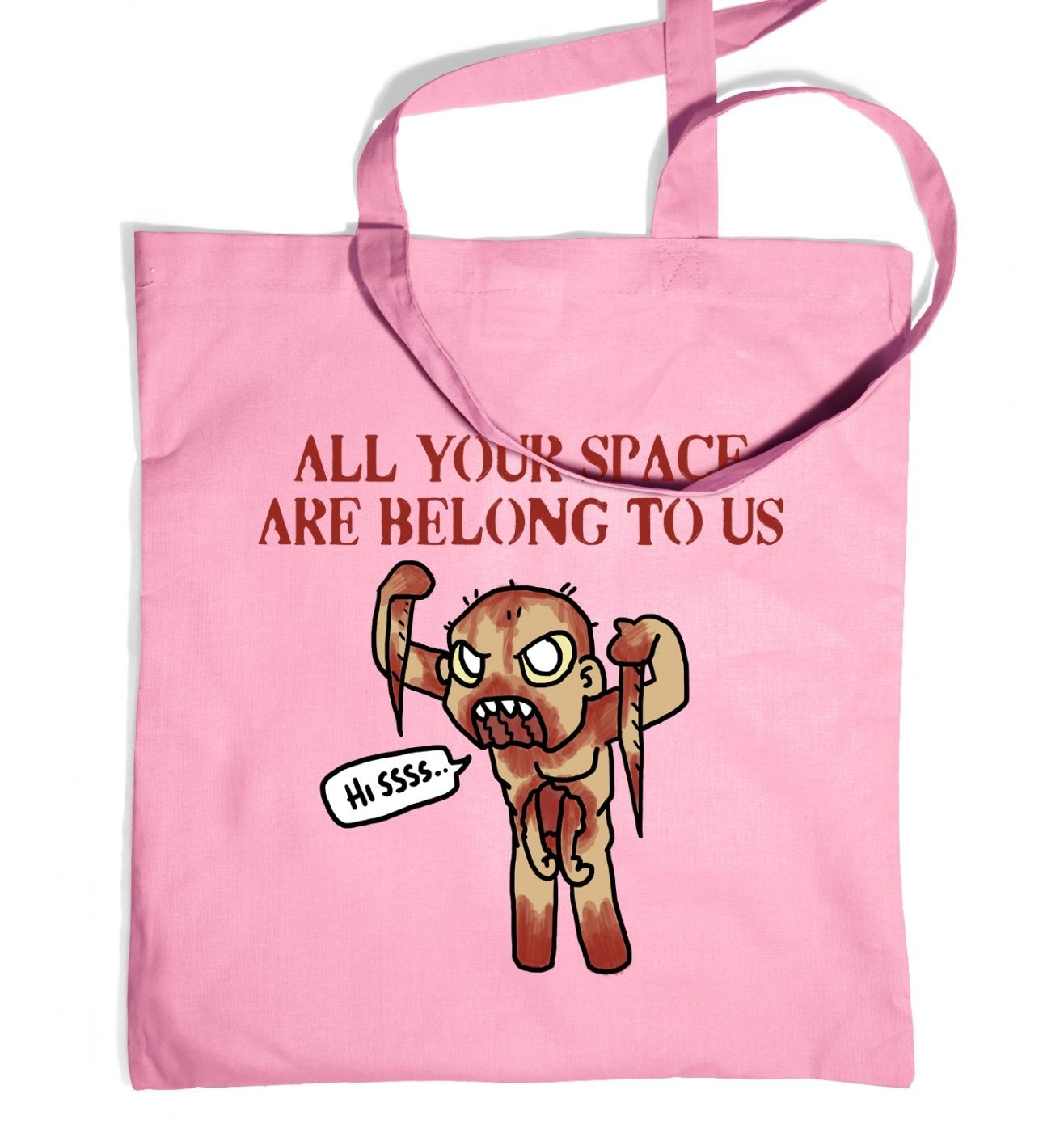 All Your Space tote bag