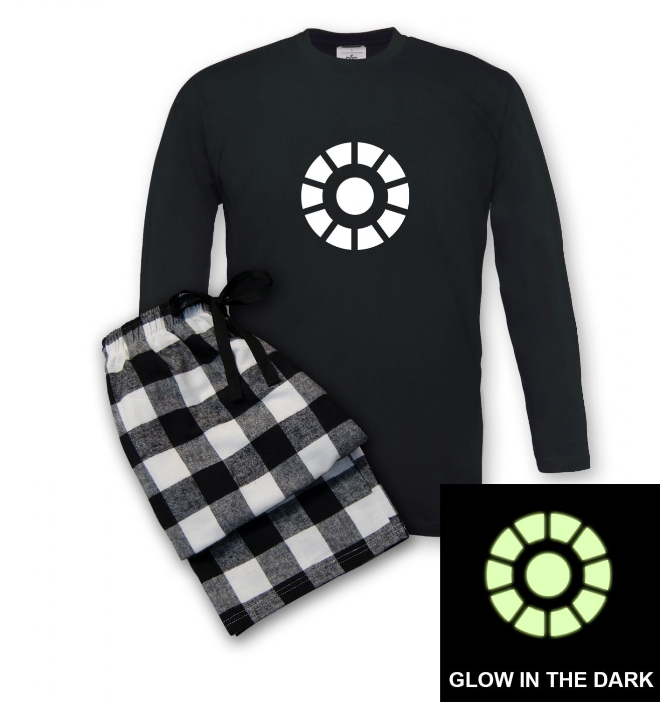 Arc Reactor Glow Men's Pyjamas