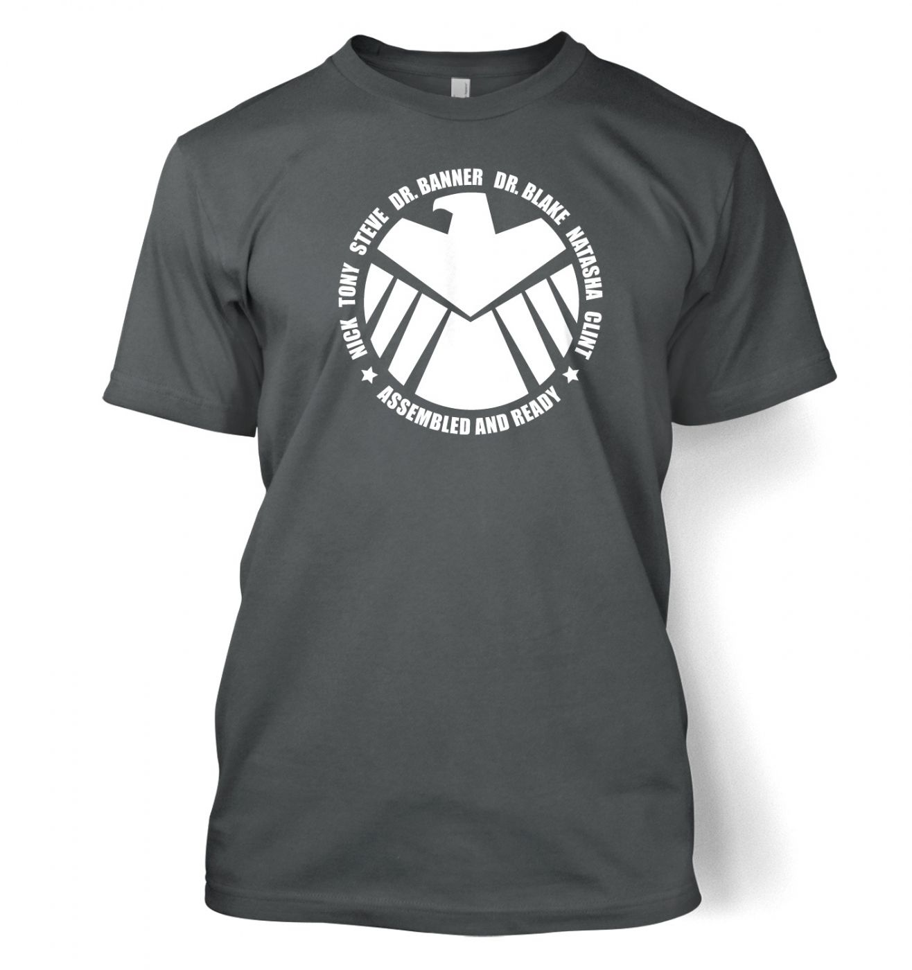 Assembled And Ready men's t-shirt