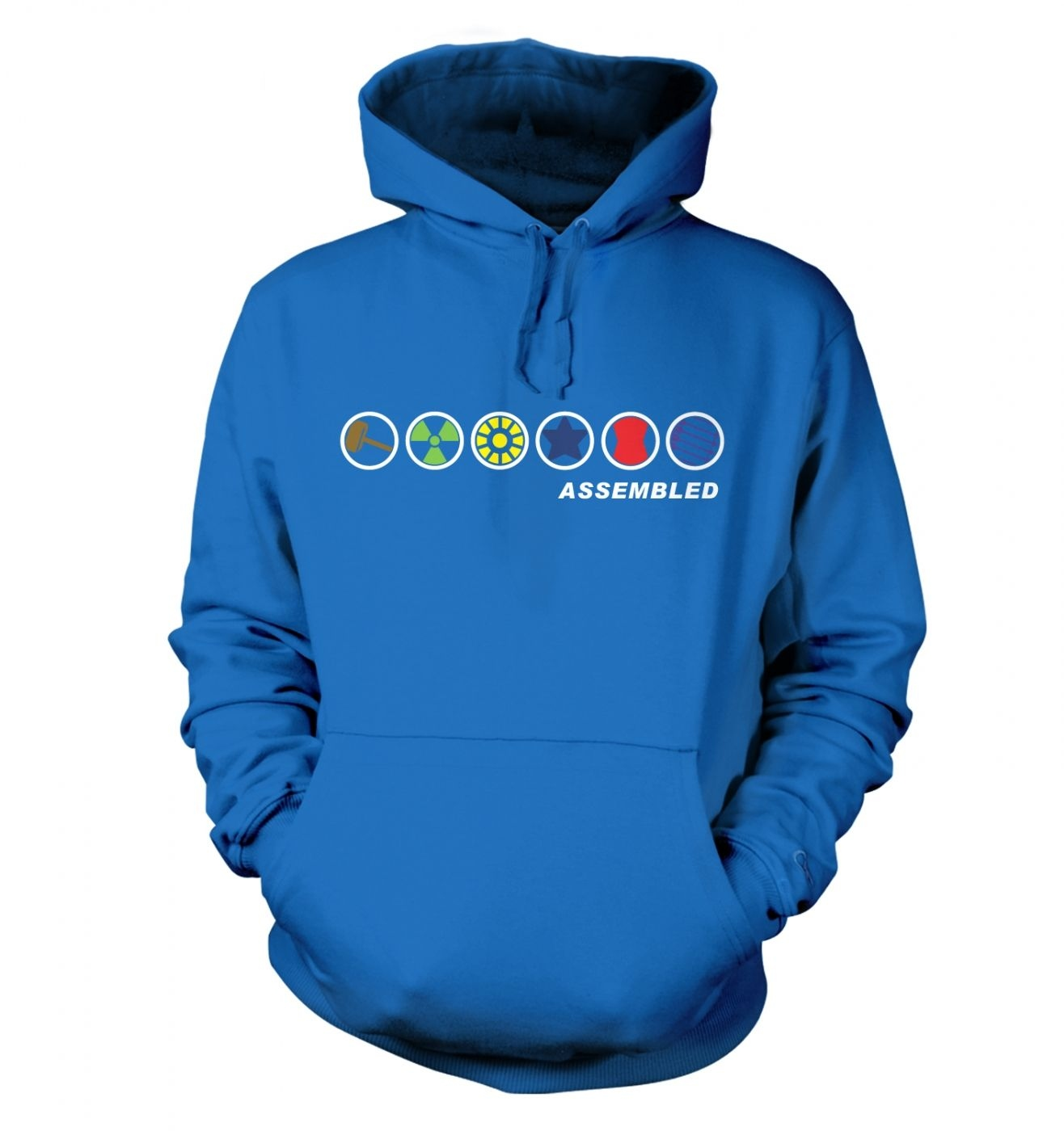 Assembled In A Row hoodie
