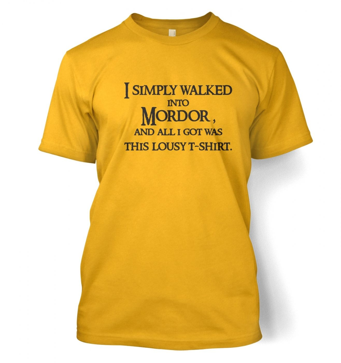 A T-Shirt From Mordor t-shirt