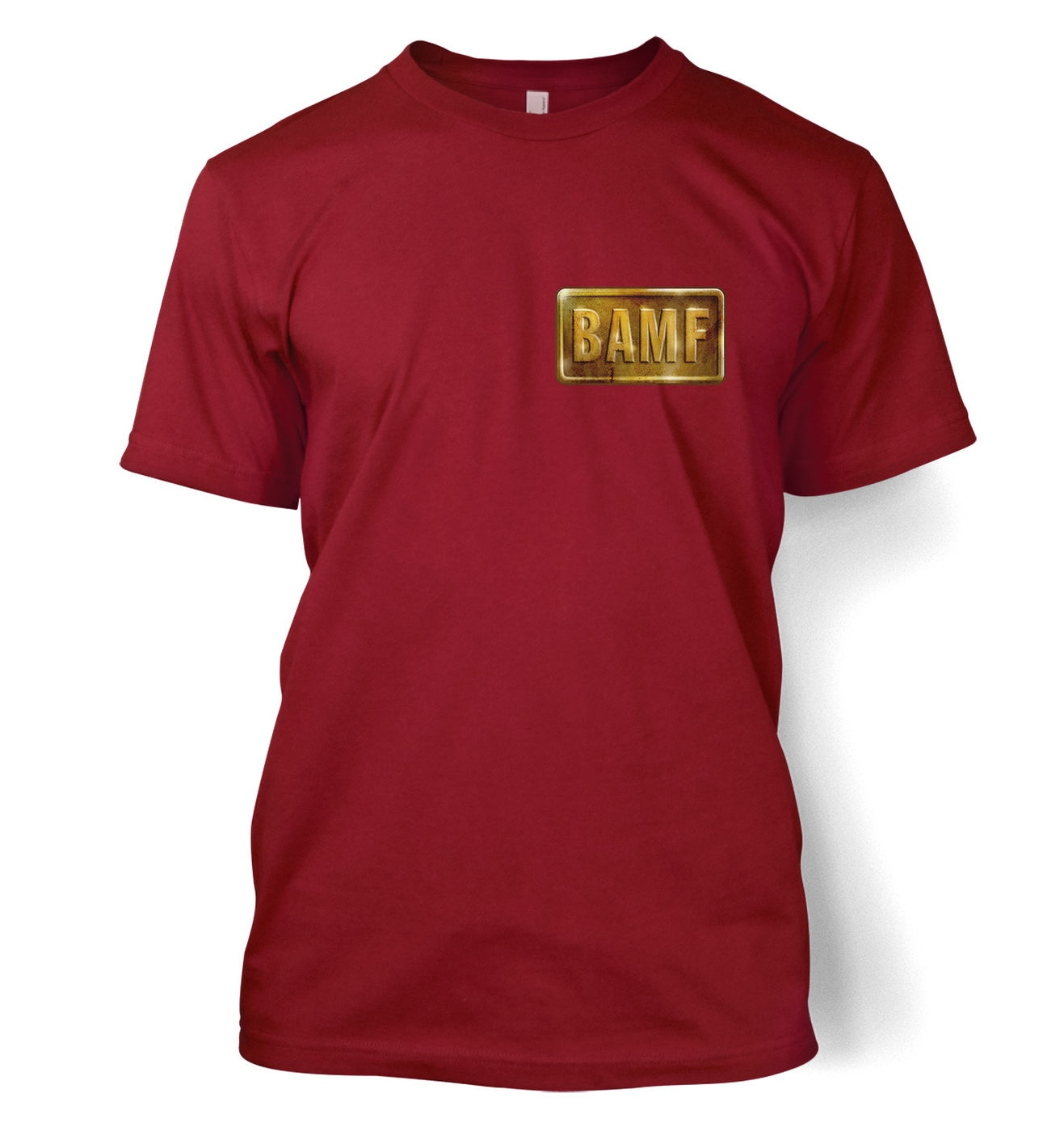 BAMF McCree Badge t-shirt by Something Geeky