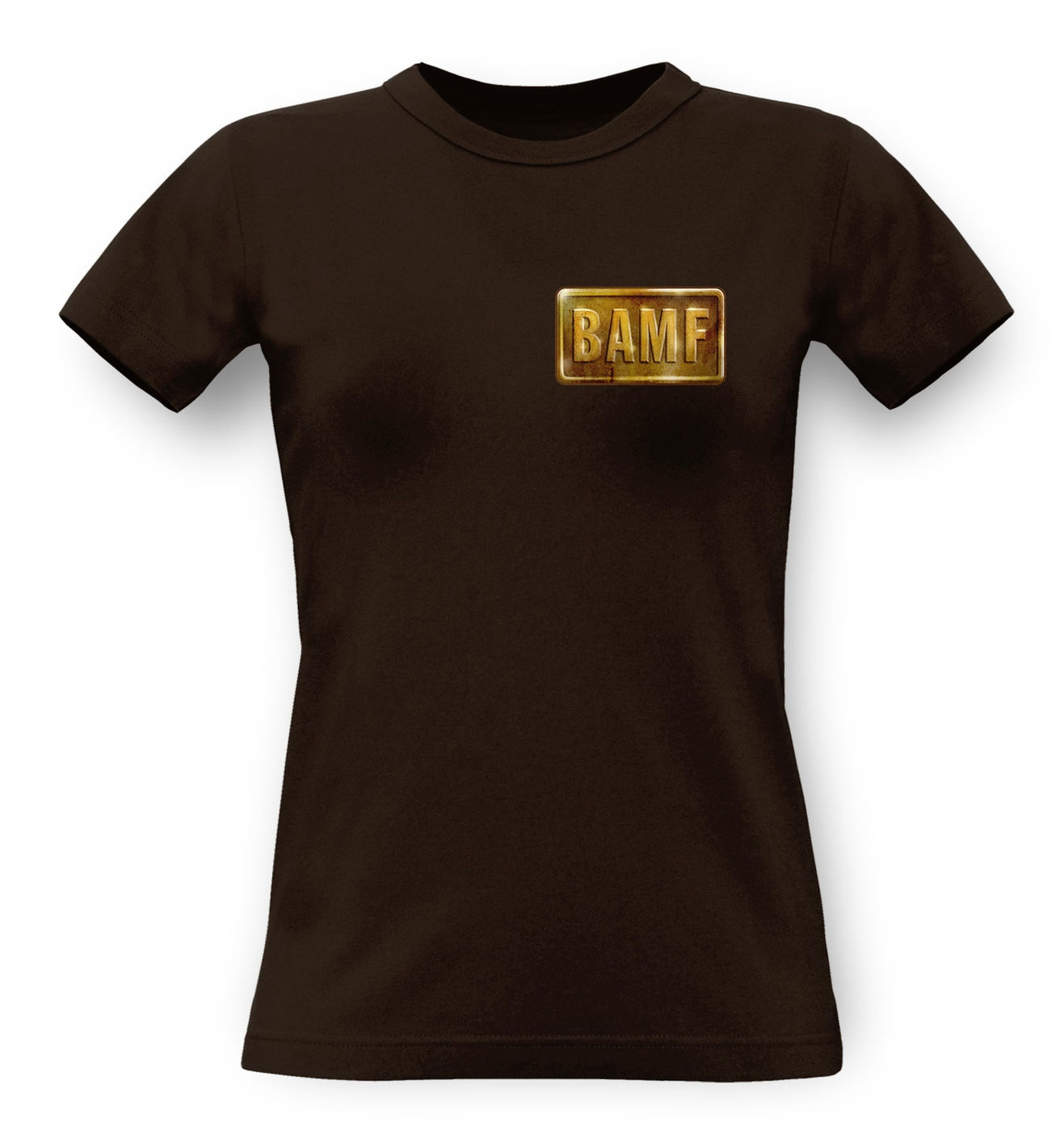 BAMF McCree Badge classic women's t-shirt by Something Geeky