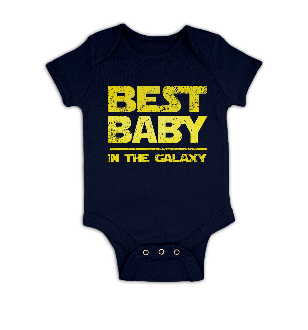 Best Baby In The Galaxy baby grow by Something Geeky