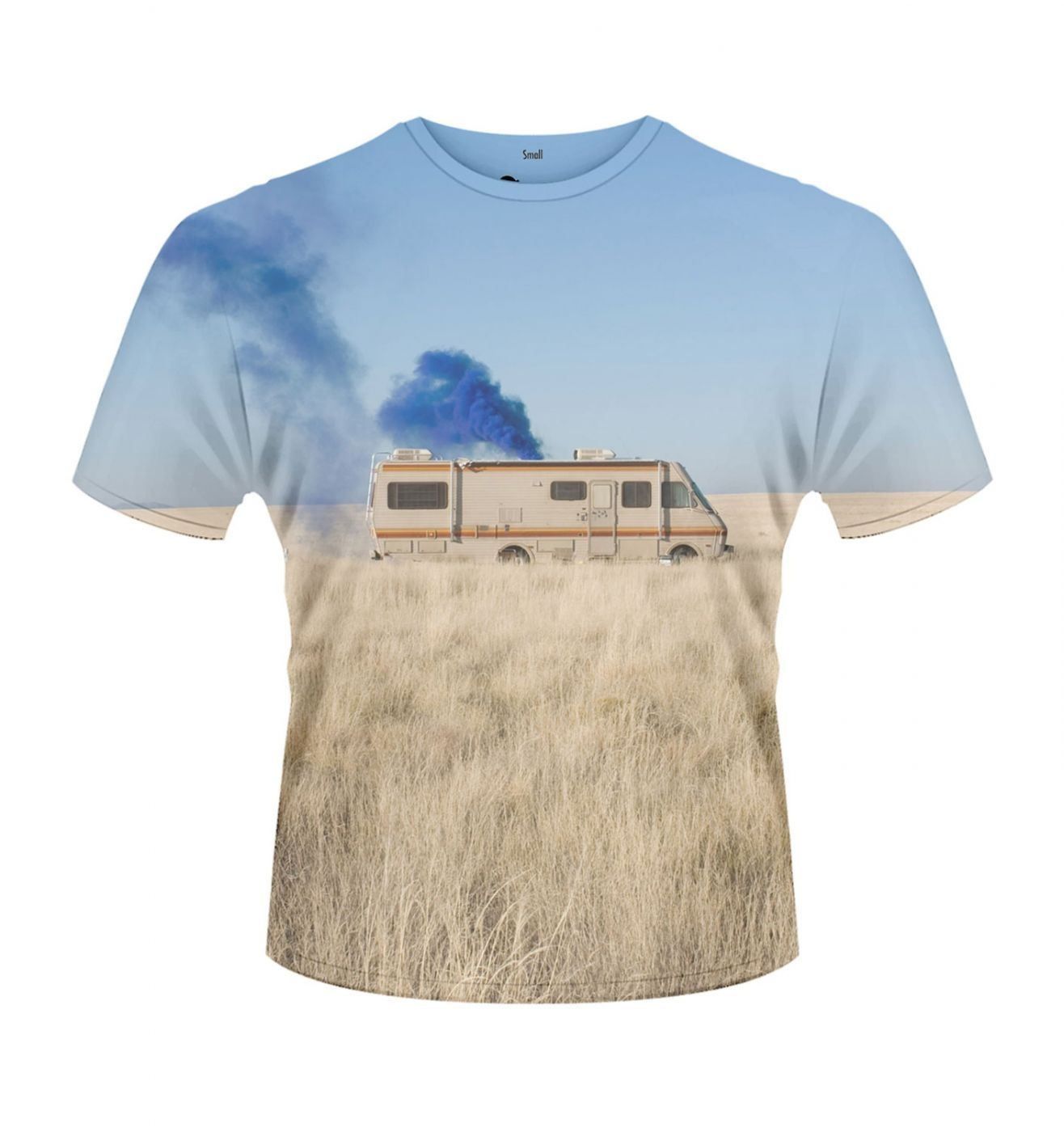 breaking bad trailer t shirt official somethinggeeky. Black Bedroom Furniture Sets. Home Design Ideas