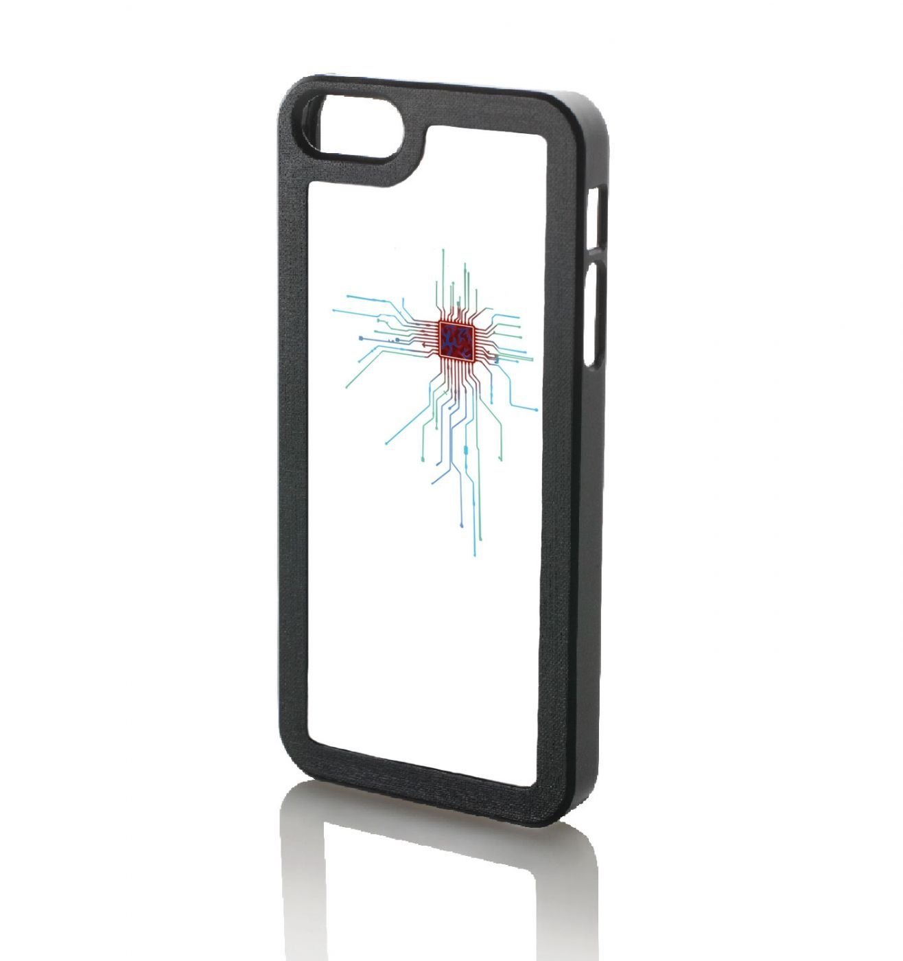 CPU Heart White iPhone 5 case
