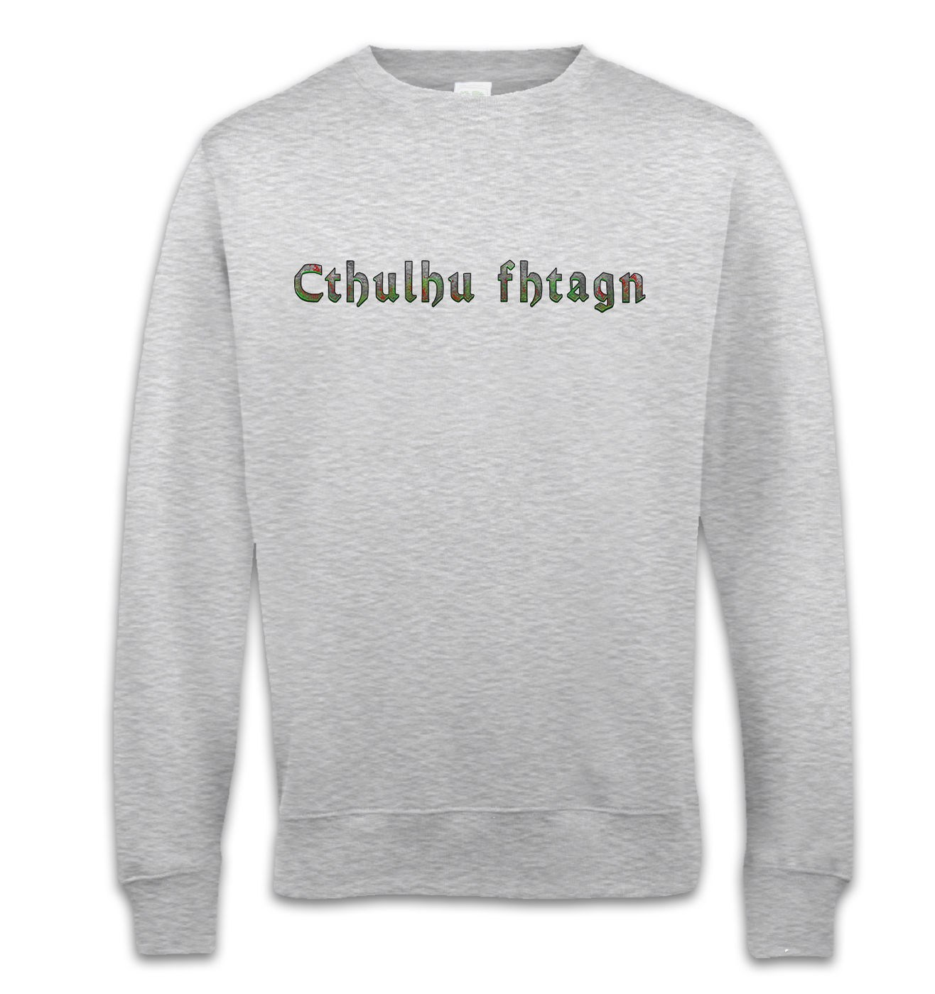 Cthulhu Fhtagn sweatshirt - stylish Lovecraft Cthulhu sweater