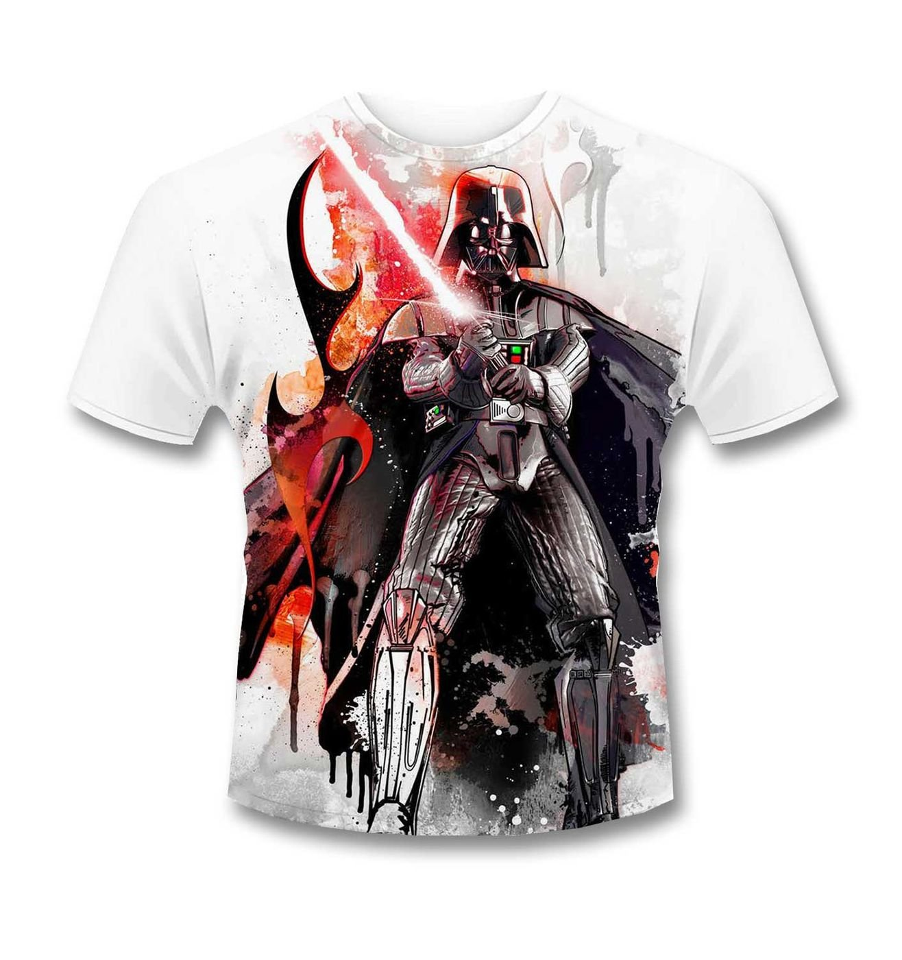 Darth Vader Subdye t-shirt - Official Star Wars merchandise