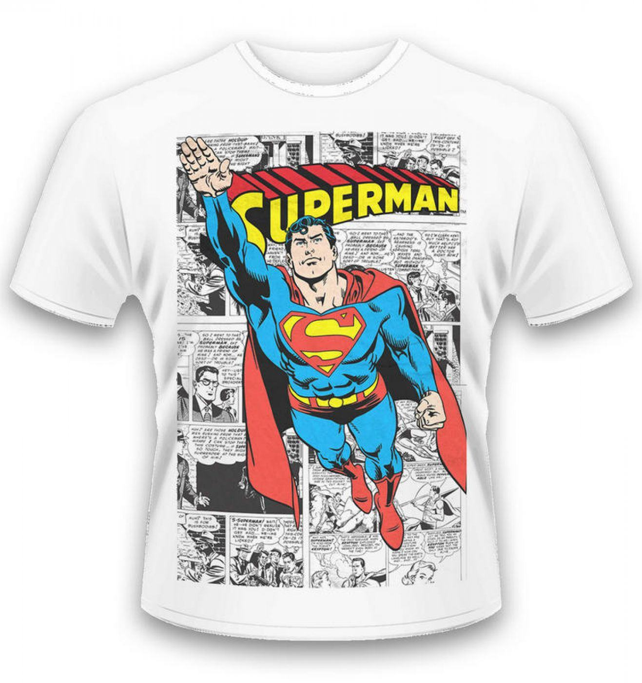DC Originals Comic Strip Superman t-shirt